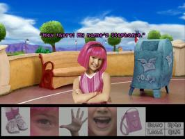 Screenshot 1 of LazyTown: The New Kid ~Demo~