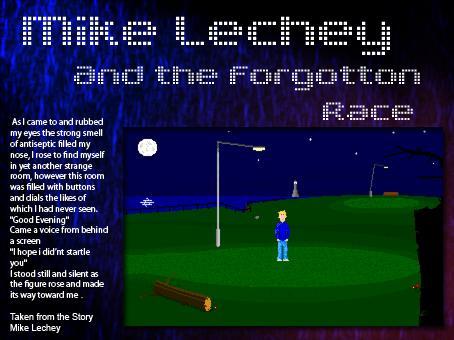 Screenshot of Mike Lechey (short demo)