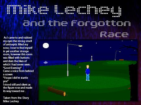 Zoomed screenshot of Mike Lechey (short demo)