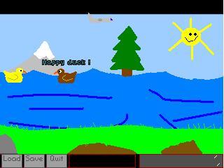 Screenshot of Happy Duckie Adventure