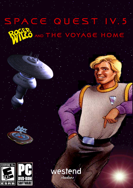 Zoomed screenshot of Space Quest IV.5 - Roger Wilco And The Voyage Home V3.00