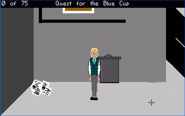 Zoomed screenshot of Quest for the Blue Cup