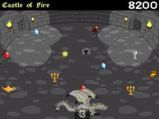 Screenshot of Castle of Fire