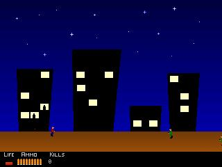 Screenshot of Mid-Town Shoot-Out