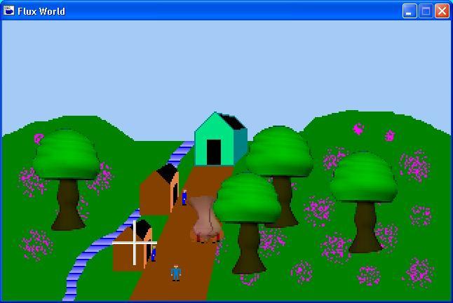 Screenshot of Flux World