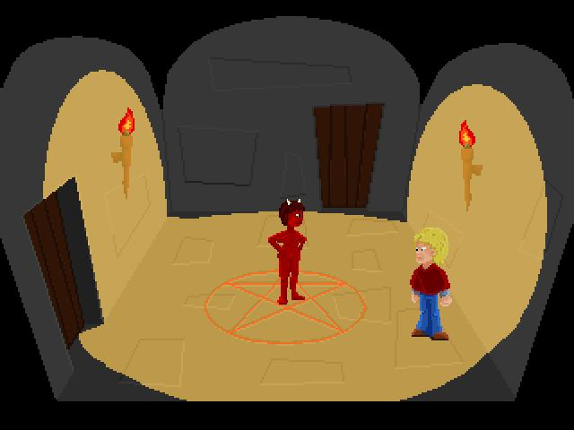 Screenshot of NecroQuest 1. The Inheritance