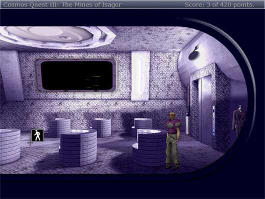 Zoomed screenshot of Cosmos Quest III