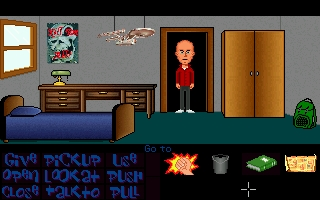 Screenshot of Maniac Mansion Mania - Episode 53 - The Klaus strikes back
