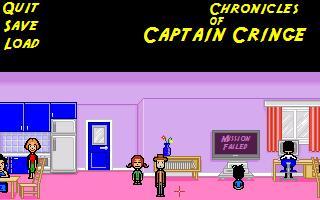 Screenshot of Chronicles of Captain Cringe
