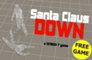 Screenshot 1 of Santa Claus Down