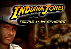 "Zoomed screenshot of Indiana Jonesâ""¢ and the Temple of Spheres"