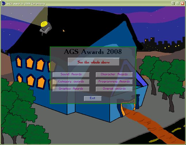 Screenshot of AGS Awards Cermony 2008