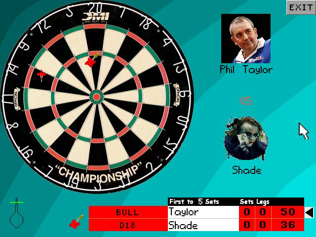 Screenshot of AGS 180 Darts