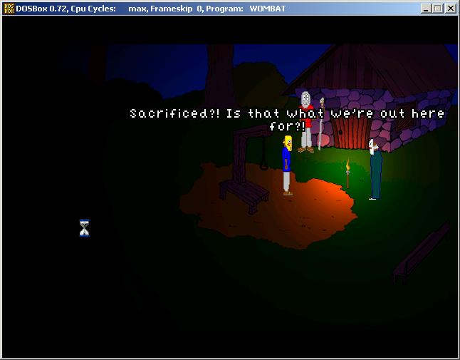 Screenshot of The Vestibule (demo)