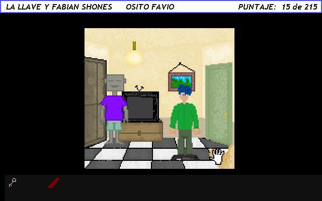 Zoomed screenshot of La Llave y Fabian Shones