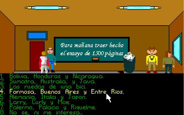 Zoomed screenshot of La Odisea del Fracaso II