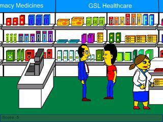 Zoomed screenshot of Pharmacist Jones