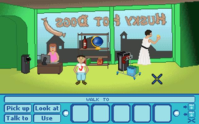 Screenshot of Billy Boy's Important Wine Lottery