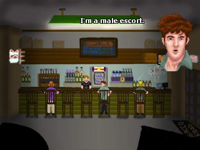 Screenshot of Back Door Man