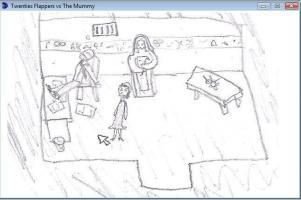 Screenshot 1 of Twenties Flappers vs The Mummy