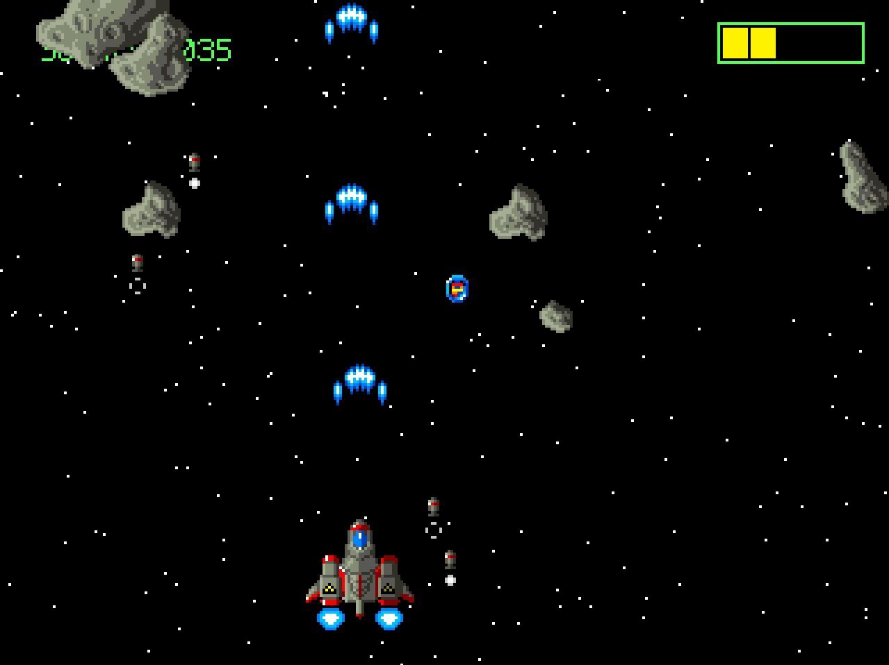Screenshot of Coell Decka Flight Demo