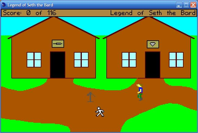 Zoomed screenshot of The Legend of Seth the Bard