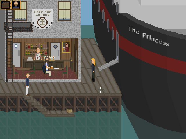 Zoomed screenshot of Robbing The Princess