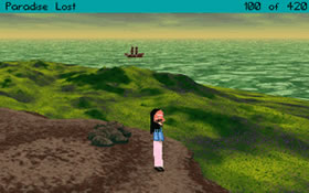 Zoomed screenshot of Larrywilco: Paradise Lost