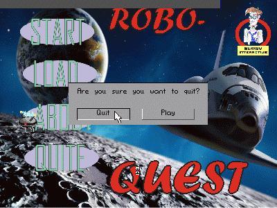 Screenshot of ROBO-QUEST 2009