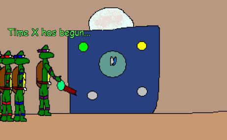 Screenshot of Turtles Ninja in Time