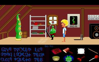 Screenshot of Maniac Mansion Mania - Episode 16: Return of the Meteor