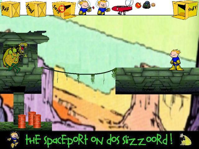 Screenshot of CosmoKid (DEMO)