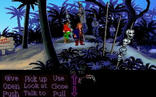 Zoomed screenshot of Inside Monkey Island: 3rd chapter