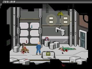 Zoomed screenshot of Johnny Rockett Adventure