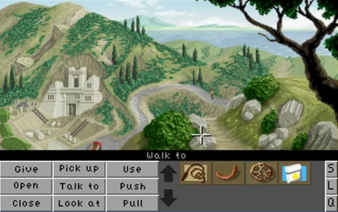 Zoomed screenshot of Indy and the Crystal Cursors DEMO v1.2