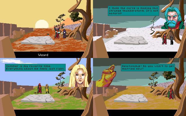 Screenshot of A Woman For All Seasons