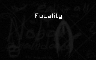 Screenshot of Focality