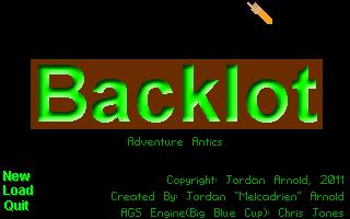 Screenshot of Backlot: Adventure Antics