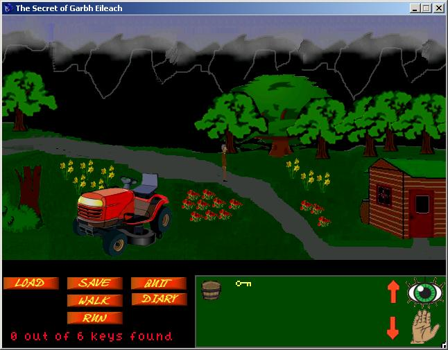 Zoomed screenshot of The Secret of Garbh Eileach