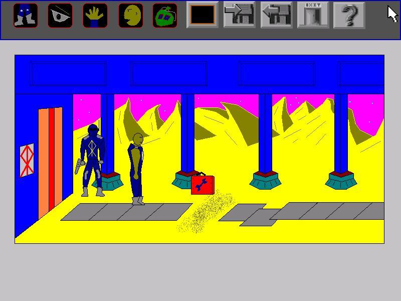 Screenshot of Derrek Quest I: Lost in the desert