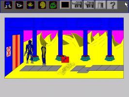 Screenshot 1 of Derrek Quest I: Lost in the desert