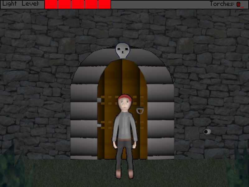 Zoomed screenshot of Shadowgate Remake