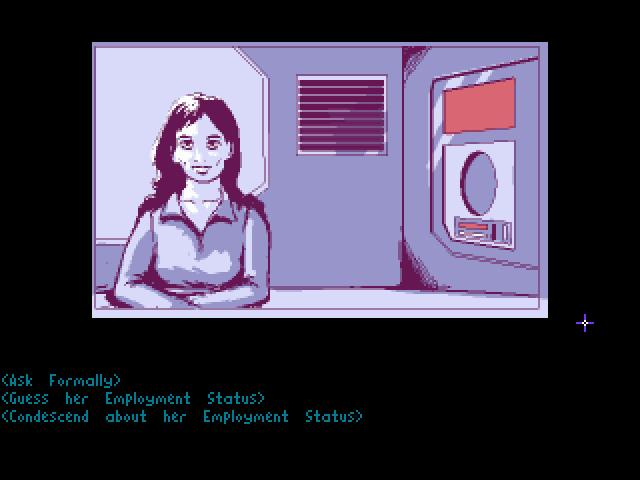 Screenshot of Technobabylon - Part 3: In Nuntius Veritas