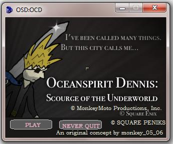 Screenshot of Oceanspirit Dennis: The Full Name Of This Game Won't Fit In The Subject Line!!1