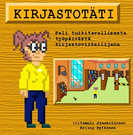 Screenshot of Kirjastot�ti