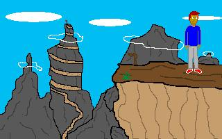 Zoomed screenshot of Greg's Mountainous Adventure [MAGS]