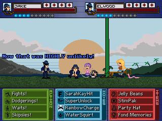 Screenshot of Oceanspirit Denise: Heroics In The Nick Of Time!