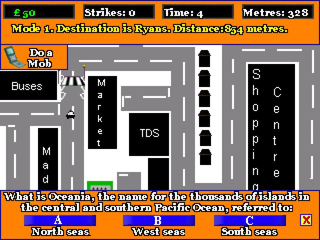 Screenshot of MONEY CAB