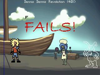 Screenshot of Dennis Dennis Revolution