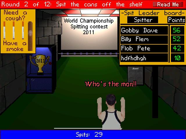 Screenshot of SPIT BOY V2.1